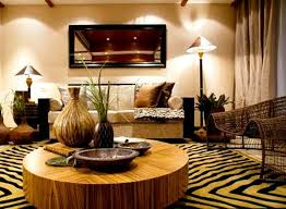 DECORATING WITH AFRICAN | Living room decorating ideas African theme1