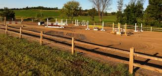 horse fence installation brown vinyl horse fence84 vinyl