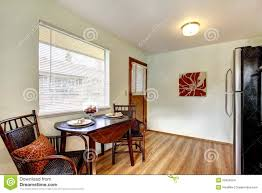 Kitchen Eating Area Small Kitchen Eating Table Area Interior Stock Images Image