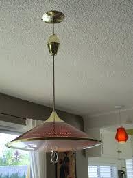 moe light honeycomb pull down pendant light