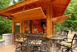 backyard pool bar. Pool Bar Rustic-patio Backyard