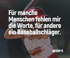 Wer Kennt Solche Menschen Antidot Wut Spaß Sauer Baseball