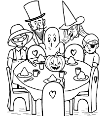 Small Picture Free Printable Halloween Coloring Pages For Kids Hallowen