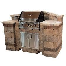 diy brick grill outdoor brick grill kits geostone