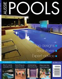 Sinkable Pool Lights Aussie Pools Magazine 2013 By Nuclear Media Issuu