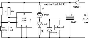 electronics club project model railway signal circuit diagram for model railway signal