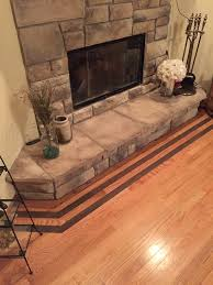 wood floors in front of a fire place that needs to be protected from high humidity