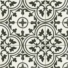 Black And White Pattern Tile Cool 48 Best Tile Images On Pinterest Encaustic Tile Cement Tiles And