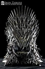 life size iron throne the iron throne hero club machinegun