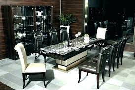 8 seater glass dining table oak designs room set new uk 6 and cha