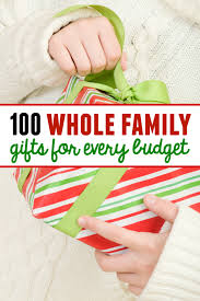 Looking for whole family gifts? These family gift ideas for Christmas have  something for every