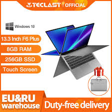 <b>Teclast</b> Laptop <b>13.3</b> Inch Notebook <b>F6 Plus</b> Touch Screen 360 ...