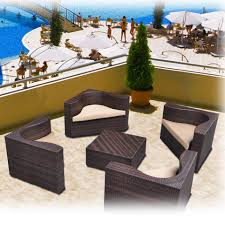 brown set patio source outdoor. Prime Source Jermane 5-piece Outdoor Wicker Club Chair Set (Jermane 5 Piece Brown Patio O