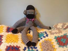 diy how to make a sock monkey