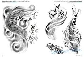 Tattoo Flash Piume E Uccelli