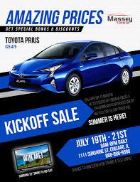 Car Sales Flyer Templates Mp Designs