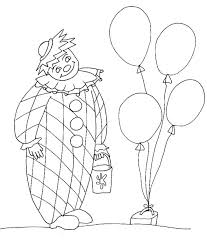 Disegno Di Clown Da Colorare Cose Per Crescere