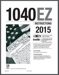 1040ez 2016 instructions booklet pdf
