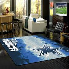 dallas cowboy area rug cowboys team fade fan rugs 8x10
