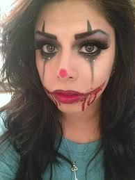 y y clown makeup