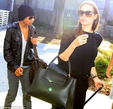 louis vuitton bags celebrities. a-list fan: angelina jolie has been spotted with a capucine louis vuitton bags celebrities