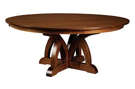 pedestal tables dining table