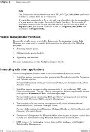 Teamcenter Workflow Designer Guide Teamcenter 8 3 Getting Started With Vendor Management