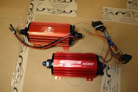 fs aeromtive a1000 fuel pump aeromotive fuel regulator edlebrock aeromotive fuel regulator 13109 this regulator has black 6 an fittings and a mounting bracket this is a boost reference regulator 75