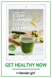 3 day juice cleanse for summer raw