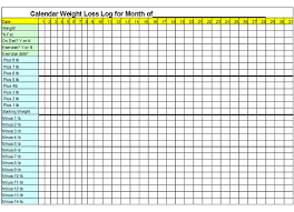 Tracking Weight Loss Chart Jasonkellyphoto Co