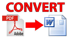 How To Convert Pdf To Word Without Software Youtube