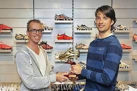 Alan Hermsen verovert Gouden Schoen - v.v. Terborg