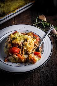 Decorating kitchen door meals images : Ratatouille Shepherd's Pie -vegetarian sausage instead of mince ...