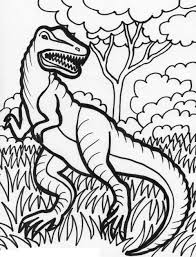 From easy dinosaur pictures for preschool kids to color, to more realistic and. Free Printable Dinosaur Coloring Pages For Kids
