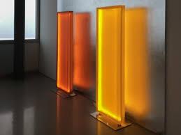 Glass room divider White Plexiglass Floor Lamp Room Divider Floor Lamp Archiproducts Acrylic Glass Room Dividers Archiproducts