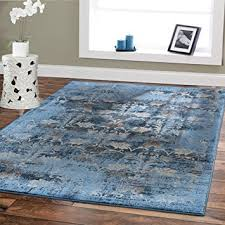 dining room rugs on carpet. Premium Soft 8x11 Modern Rugs For Dining Room Blue Beige Brown Ivory Navy Floral On Carpet
