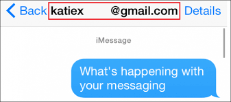 Why Do Some Imessages Show Up As An Email Instead Of A Phone Number