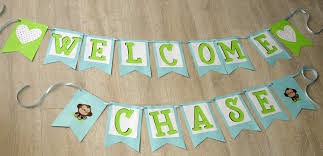 baby shower banners how to make a simple baby shower banner create and babble