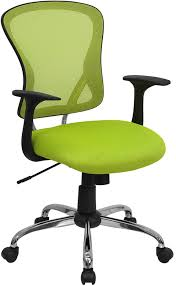 awesome green office chair. Ergonomic Home Mid-Back Green Mesh Swivel Task Chair With Chrome Base EH-H Awesome Office