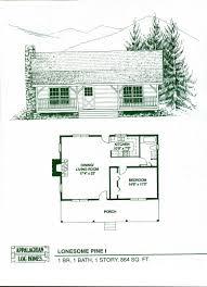 Log Cabin Floor Plans With Loft And Basement  AllstateLogHomes Large Log Cabin Floor Plans