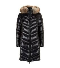 Moncler Fulmar Fox Fur Trim Coat ...