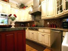 kitchen cabinet color schemes and granite cabinets combination white