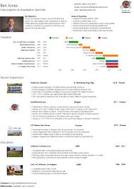Tableau Sample Resumes Ben Jones' Infographic Resume Built In Tableau Public 17