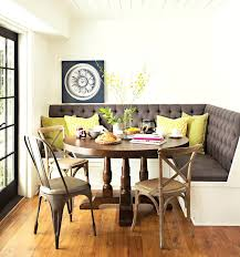 round table with bench seat unlikely dining room tables benches best ideas decorating 42