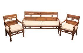 comfortable teak carved sofa set elegant carved sofa set