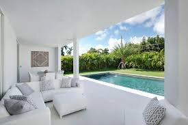 modern outdoor sectional. White Outdoor Sectional With Gray Trellis Pillows Modern T