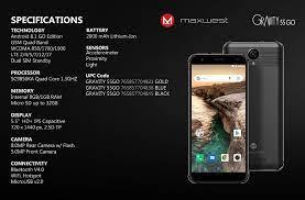 MAXWEST GRAVITY 55GO 4G LTE BRAND NEW ...