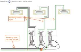 how to wire up 3 switches in a 3 gang box to operate 3 different 120v Electrical Switch Wiring Diagrams 120v Electrical Switch Wiring Diagrams #75 Electrical Wiring Diagrams For Dummies