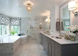 gray bathroom with white cabinets. light grey bathroom ideas, pictures, remodel and decor gray with white cabinets