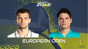 03:06 tennis tv is the official live streaming service of the atp tour. 2020 European Open Quarter Final Grigor Dimitrov Vs Milos Raonic Preview Prediction The Stats Zone